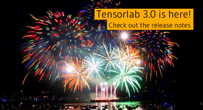 Tensorlab | A Matlab package for tensor computations